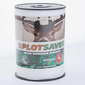 "Plotsaver Deer Barrier Ribbon, 3/4"" x 1320'"