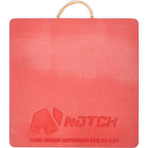 Notch Yard Armor Outrigger Pad, 24˝ x 24˝