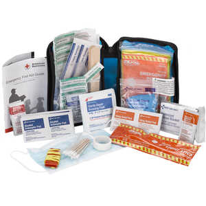 Physicians Care Soft-Sided First Aid Kit Plus Emergency Preparedness