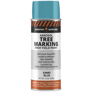 Forestry Suppliers Aerosol Tree Marking Paint, 12 oz., Blue