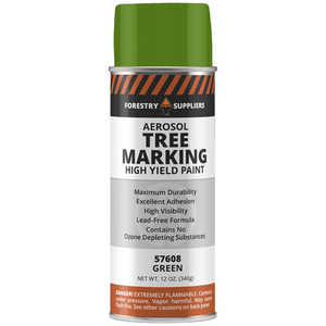 Forestry Suppliers Aerosol Tree Marking Paint, 12 oz., Green