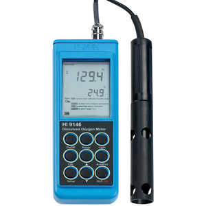 Hanna Instruments Portable Dissolved Oxygen Meter