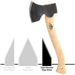 Gränsfors Bruk Swedish Carving Axe, Right Bevel