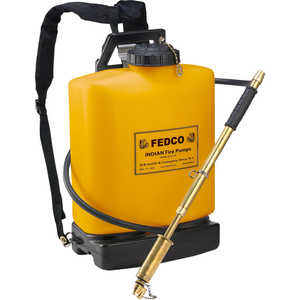 Indian Fedco 5 Gallon Poly Fire Pump Model FER501