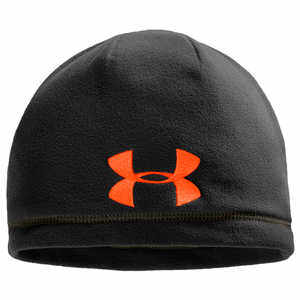 Under Armour UA Outdoor Fleece Beanie, Black