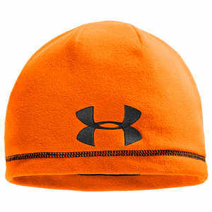 Under Armour UA Outdoor Fleece Beanie, Blaze Orange