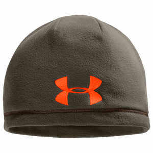 Under Armour UA Outdoor Fleece Beanie, Rifle Green