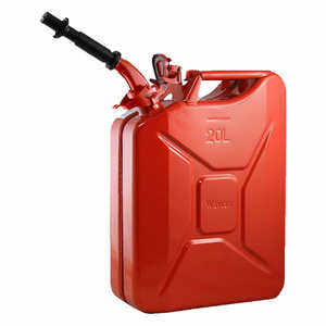 NATO 20-Liter/5.28 Gal. Jerry Can with Spout, Red