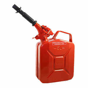 NATO 5-Liter Jerry Can with Spout, Red