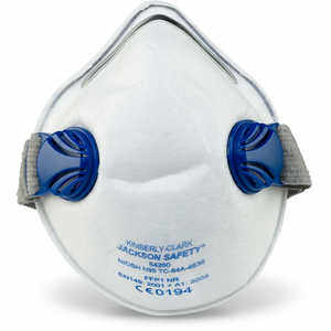 JACKSON SAFETY R10 Dual-Valve N95 Particulate Respirator, Box of 10