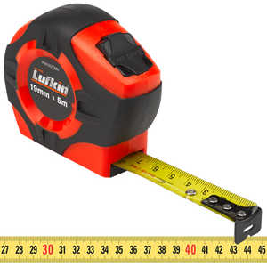 Lufkin HI-VIZ Tape, 19mm W x 5m L Metric