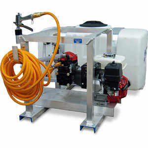 5.5 hp King's Sprayers 100-Gallon Skid Sprayer w/5.5 hp Honda Engine, Diaphragm Pump