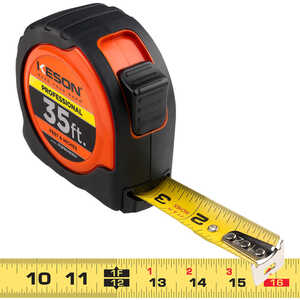 Keson Professional Series Hi-Vis Measuring Tape Model PGPRO1835V