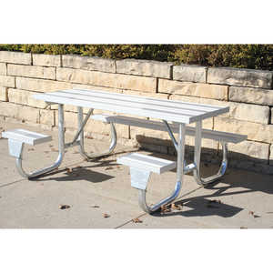 J2GWC Series Welded Frame Table, 8'L