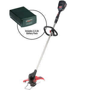 Oregon PowerNow 40V MAX Model ST250 Cordless Trimmer/Edger Kit with 2.4 Ah Battery Pack