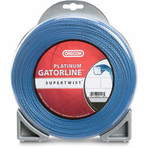 Oregon SuperTwist Platinum Gatorline, .080 Gauge, 1 lb. Donut