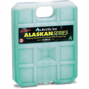 Arctic Ice™ Alaskan Series High Performance Reusable Ice; Size: X-Large