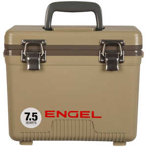 Engel UC7T Dry Box/Cooler, 7.5 Qt., Tan