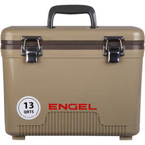 Engel UC13T Dry Box/Cooler, 13 Qt., Tan