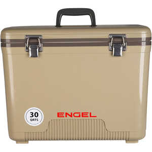 Engel UC30T Dry Box/Cooler, 30 Qt., Tan
