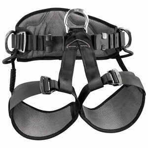 "Petzl Avao Sit Climbing Harness, Large/X-Large, 31.4"" to 51.2"""
