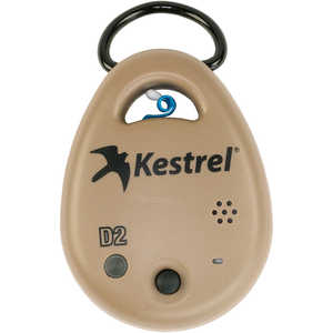 Kestrel DROP D2 Temperature, RH, Heat Index, Dew Point Data Logger, Tan