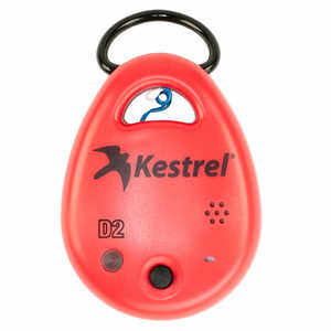 Kestrel DROP D2 Temperature, RH, Heat Index, Dew Point Data Logger, Red