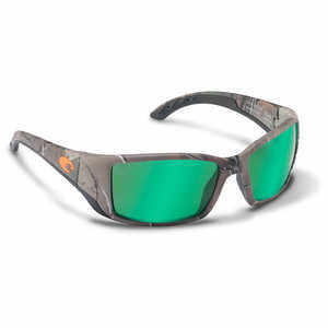 Costa Blackfin Sunglasses with 400G Green Mirror Glass Lens