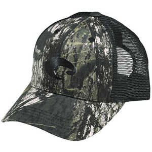 Costa Mesh Hat, Mossy Oak® New Break Up™ Camo/Black