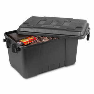 Plano Small Sportsman's Trunk, 56 Quart, Black