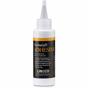 Lineco White Neutral pH Adhesive, 4 oz. Dispenser Bottle