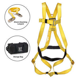 French Creek Compliance-In-A-Bag Fall Protection Kit, Small/Medium - Weight: 130-230 lbs.; Height: 4´10˝ - 6´3˝