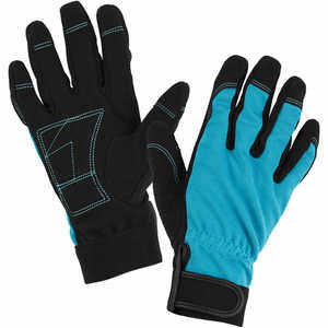 Womanswork Multi-Task Stretch Gloves, Small, Teal