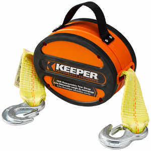 Keeper Retractable Tow Strap