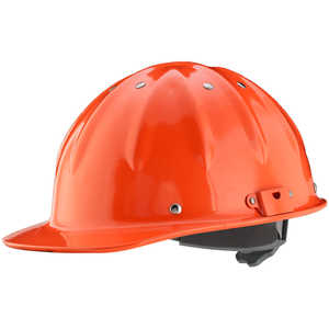 Forester Cap Aluminum Hard Hat, Orange