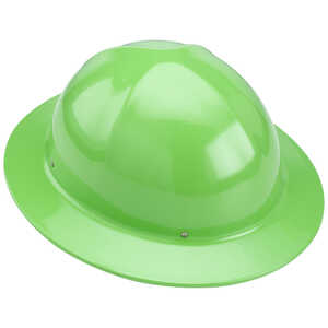 Safety Green Forester Full Brim Aluminum Hard Hat