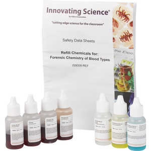 Aldon Innovating Science Forensic Chemistry of Blood Types Refill