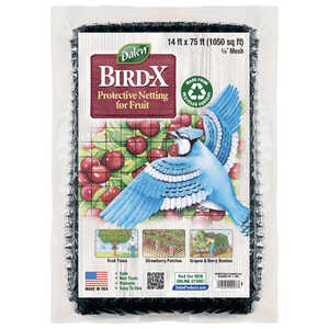 Bird-X Protective Netting for Fruit, 14' x 75' Roll