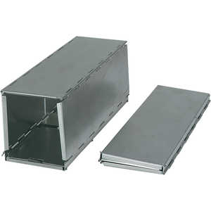 Sherman Folding Trap, Aluminum w/ Galvanized Steel Doors and Treadle, Large, Solid