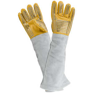 The Magnum Vet-Pro Leather/Kevlar Handling Gloves