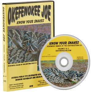Okefenokee Joe: Know Your Snakes DVD, Volumes I & II