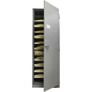 Herbarium Full-Size Specimen Cabinet, Right Opening, Gray