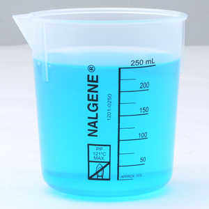 Nalgene Griffin Low-Form Graduated Beaker, 250 ml