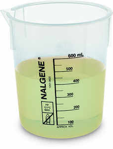 Nalgene Griffin Low-Form Graduated Beaker, 600 ml