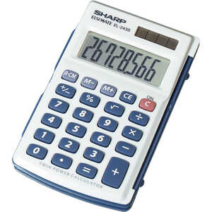 Sharp Dual-Powered Basic Calculator