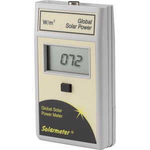 Solarmeter Model 10.0 Global Solar Power Meter