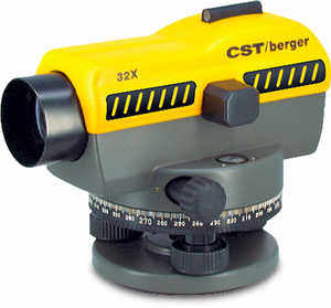 CST/Berger SAL 32 Automatic Level, 32x Magnification