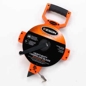 Keson Open Reel Fiberglass Tape, 50m, Model OTR-50M