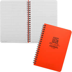 No. OR73 – Universal, Orange Cover, Rite in the Rain Spiral Notebook