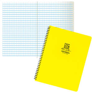 Rite in the Rain Maxi-Spiral Notebook, No. 373-MX - Universal, Yellow Cover